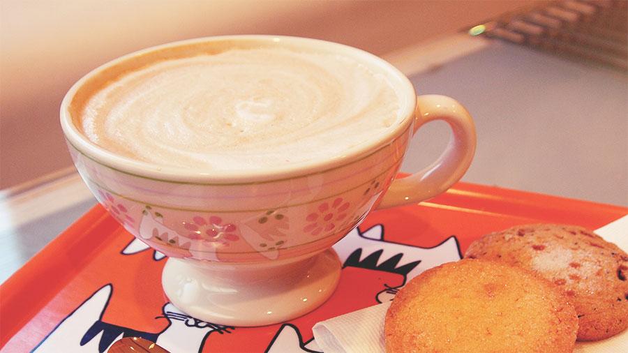 カールアップカフェのカフェ