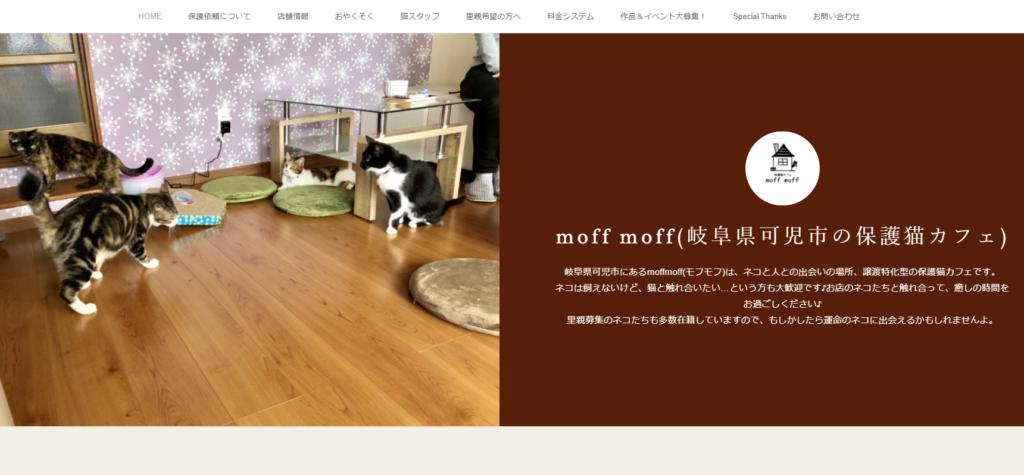 保護猫カフェmoffmoff