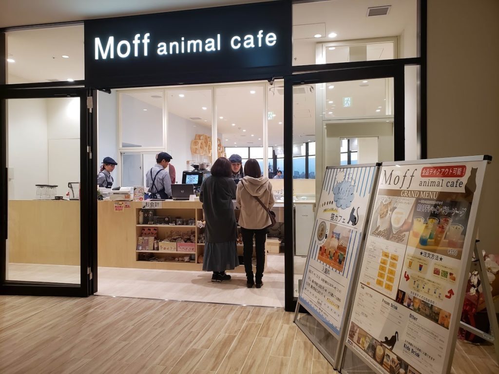 Moff animal cafe 南町田グランベリーパーク店入口