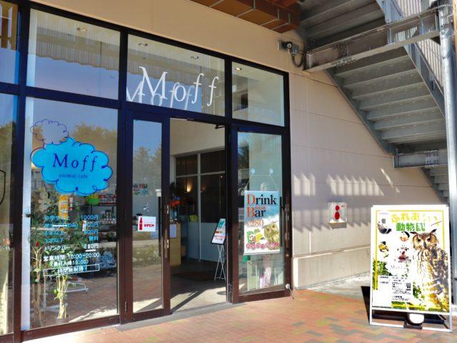 Moff animal cafeイーアス高尾店の入口