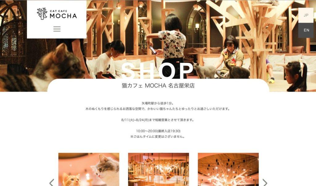 猫カフェMOCHA 名古屋栄店