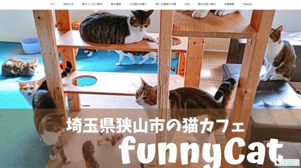 保護猫カフェ funnyCat