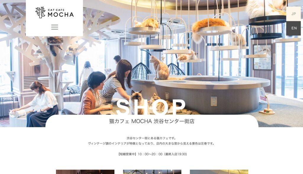 猫カフェモカ渋谷センター街店