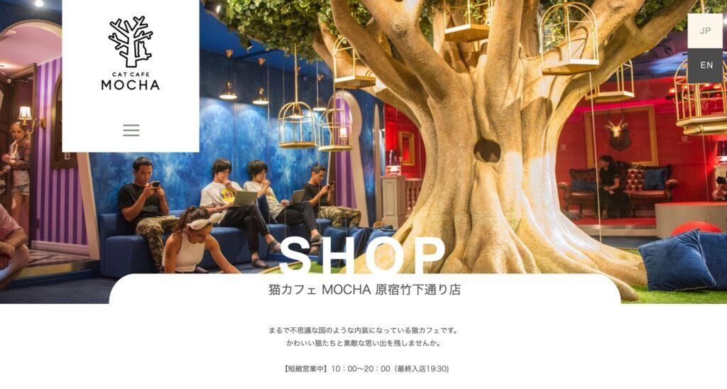 猫カフェモカ原宿竹下通り店